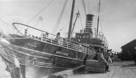 Le North Shore de la Clark Steamship.