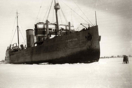 Le navire-brise-glace N.B. McLean en 1930