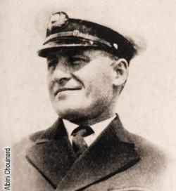 Le capitaine Albini Chouinard, 1935