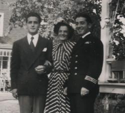Marcel Chouinard, Rose-Délima Longtin et Robert-Patrick Chouinard