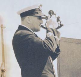 Capitaine Auguste-Albini Chouinard, vers 1935.