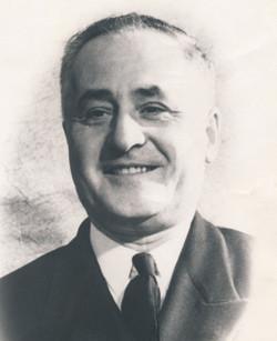Le capitaine Albini Chouinard vers 1950.