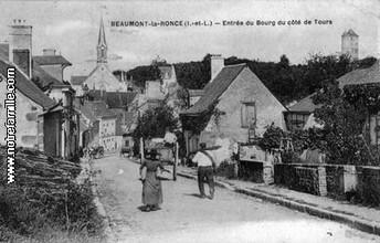 Beaumont-La-Ronce, près de Tours, France