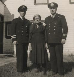 Robert-Patrick Chouinard, Odile Pipe Paquet et le Capitaine Auguste-Albini Chouinard