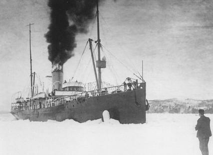 Le brise-glace Montcalm.