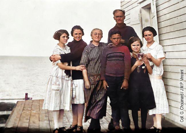 Chouinard Elzéar Famille 5x7Col sans tex