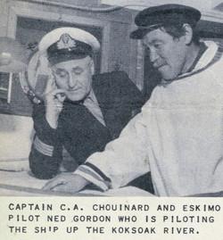Le capitaine Chouinard dans l'Arctique