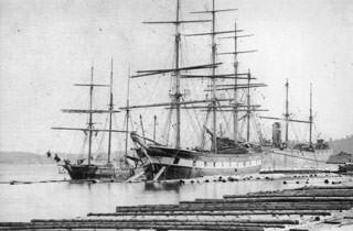 L'immigration irlandaise de 1847.  John Wilson, père de Mary Wilson