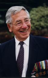 Robert-Patrick Chouinard, fils d'Albini Chouinard, vétéran de la 2e guerre mondiale.