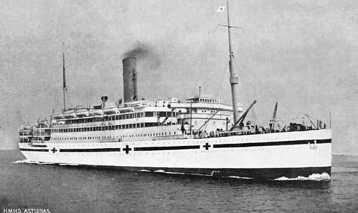 L'Asturias transformé en navire-hôpital