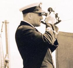 Le capitaine Albini Chouinard vers 1935
