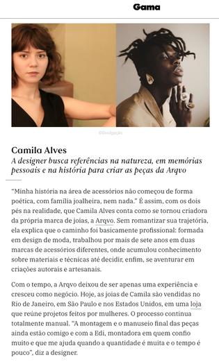 Site Gama Revista - maio 2020
