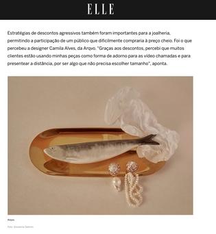 Site Elle Brasil - Junho 2020