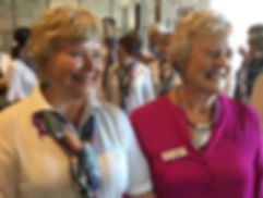 Sandy and Helen Blackbourn at Zonta's IW