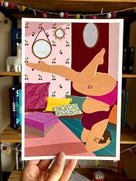Affiche Yoga Body