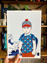 Affiche L'enfant capitaine