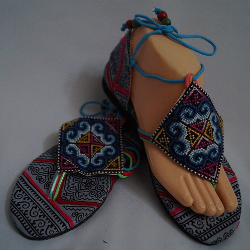 Sandales tissu