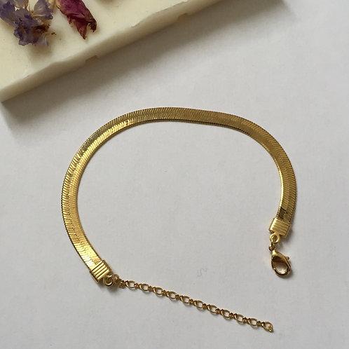 Bracelet à l'or fin