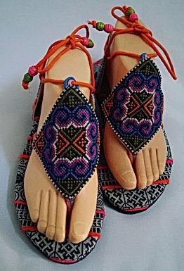 Sandales tissu #36