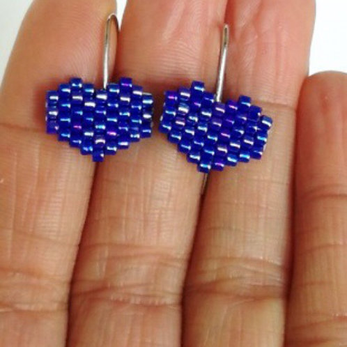 Boucles d'oreilles cœurs