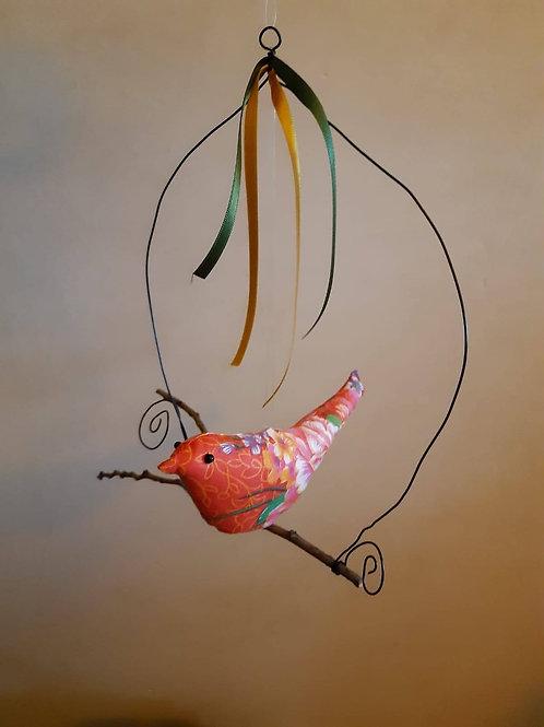 Oiseau décoratif à suspendre