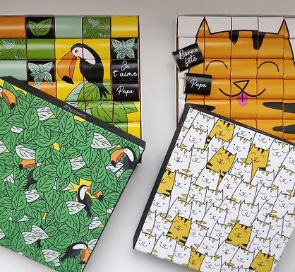 Choco box «Bonne Fête Papa»