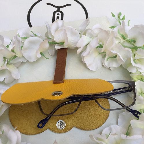 Etui à lunettes cuir