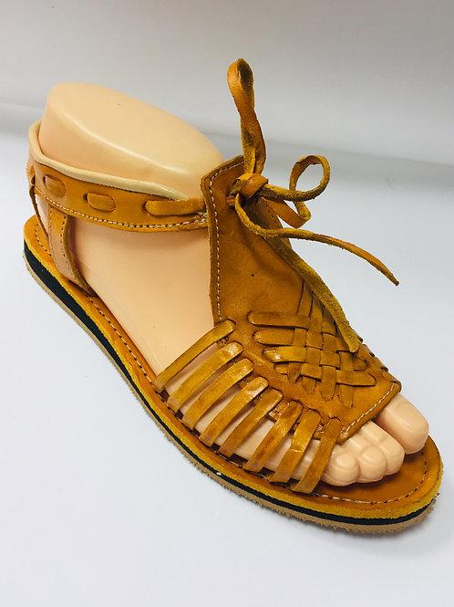 Sandales en cuir jaunes #36 #38 #39 #40