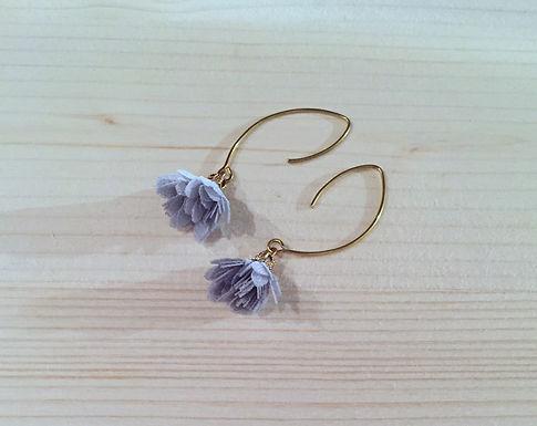 Boucles d'oreilles fleur