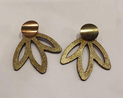 Boucles d'oreilles cuir