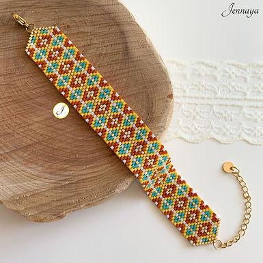 Bracelet Poeata jaune