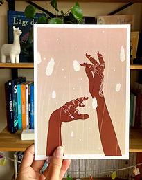 Affiche Mains en transe