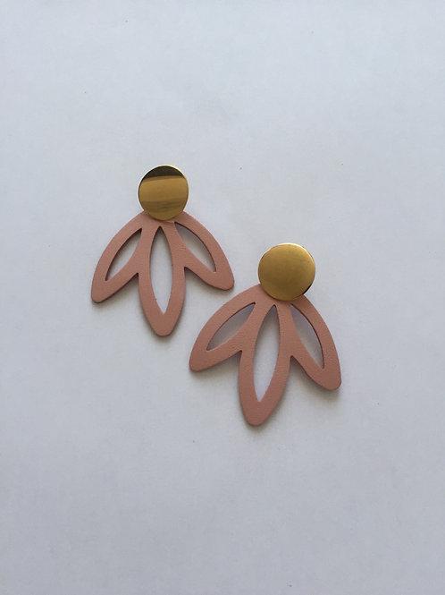 Boucles d'oreilles en cuir