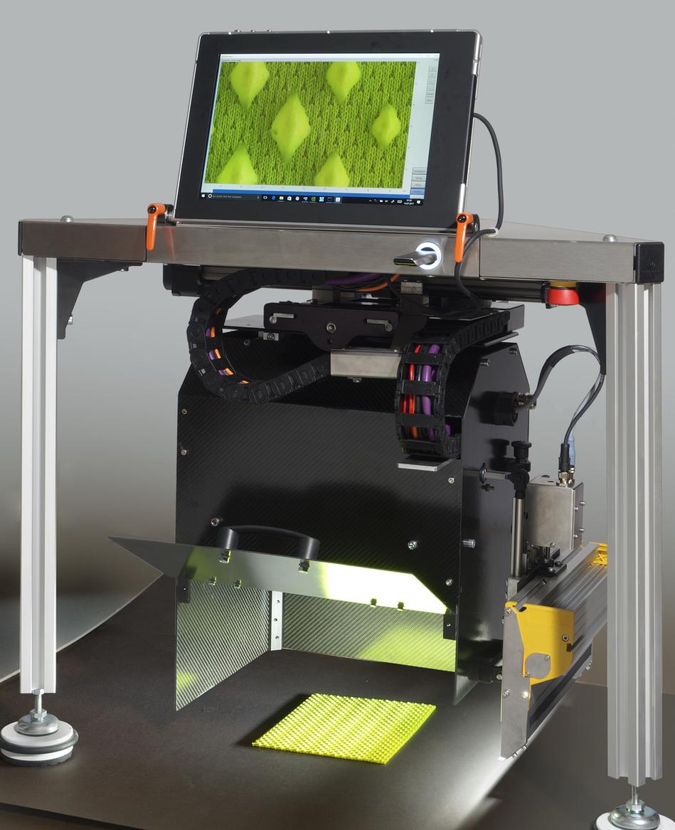 Flächenmikroskop Roboskop für das Labor