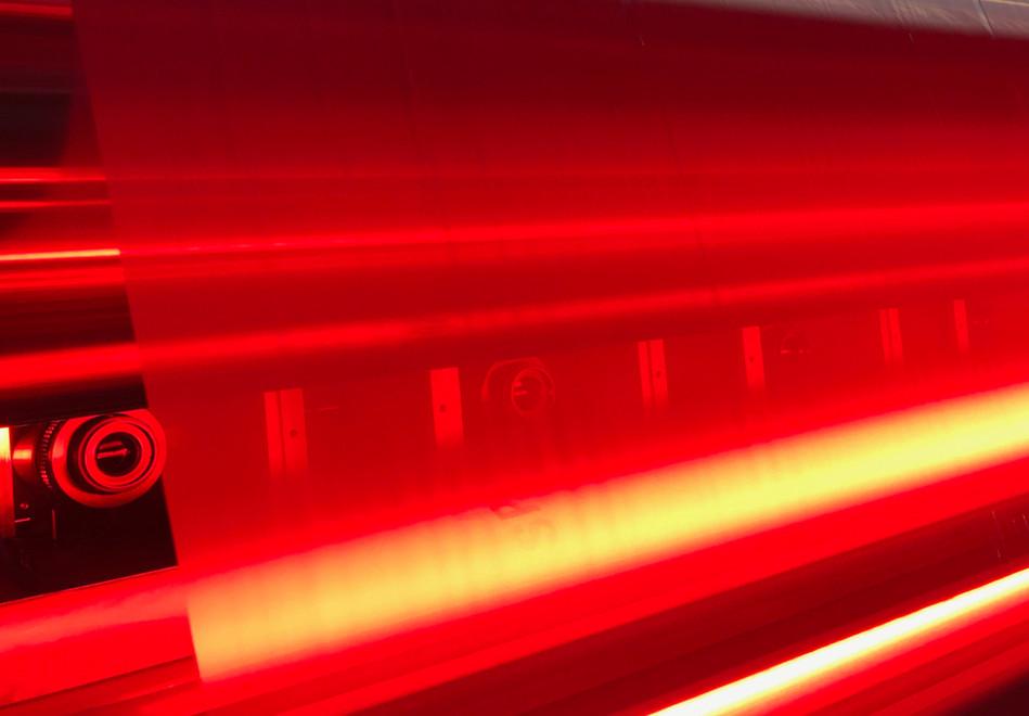 Inlinekontrolle mit Zeilenkamera