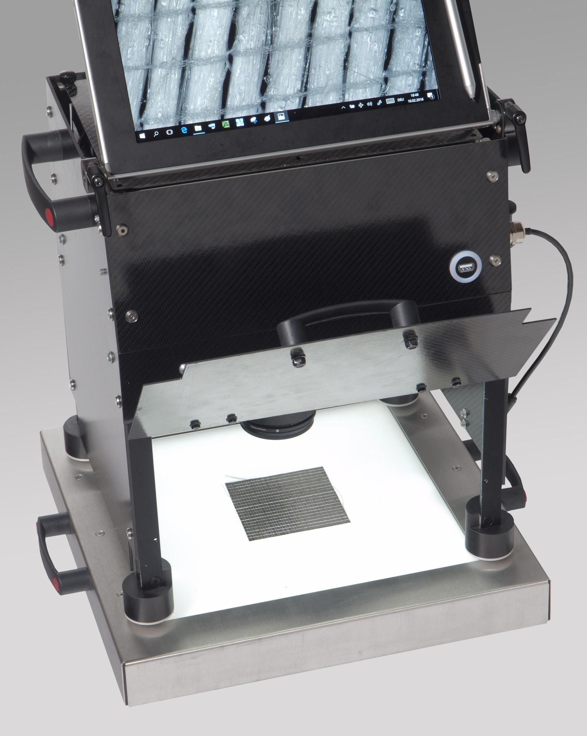 Flächen Mikroskop mit Durchlicht