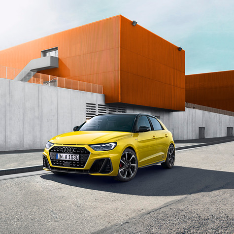 AUDI - Campagne New A1 (Salon)