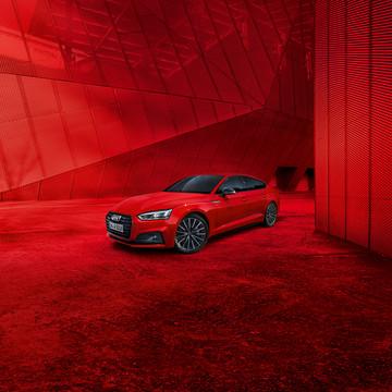 Audi - Campagne A5 Black Edition Salon 2018