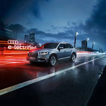 Audi - Campagne Q7 e-tron