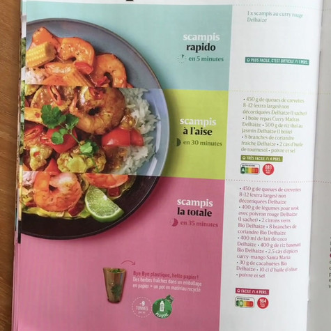"DELHAIZE - Campagne ""Fresh"" Jan. 2021)"