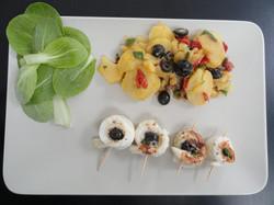 Filets de sole méditéranéenne