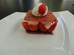 Feuilleté citron fraise