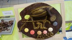 Création en chocolat Les 3 ateliers