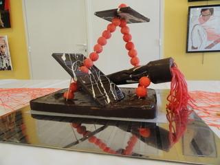 Création 3D en chocolat