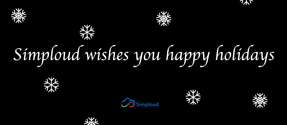 SImploud wishes you happy holidays