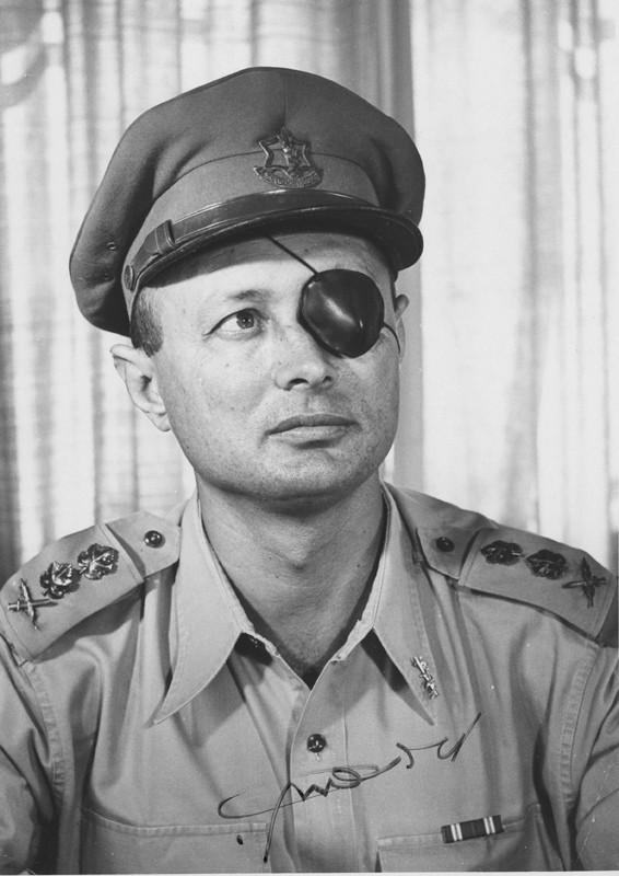 Chief of Staff Lt. Col. Moshe Dayan