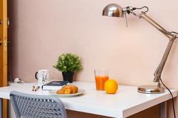 Desk - Chair - Light