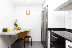 Little dining space in the kitchen