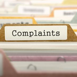 Complaints should be valued?!