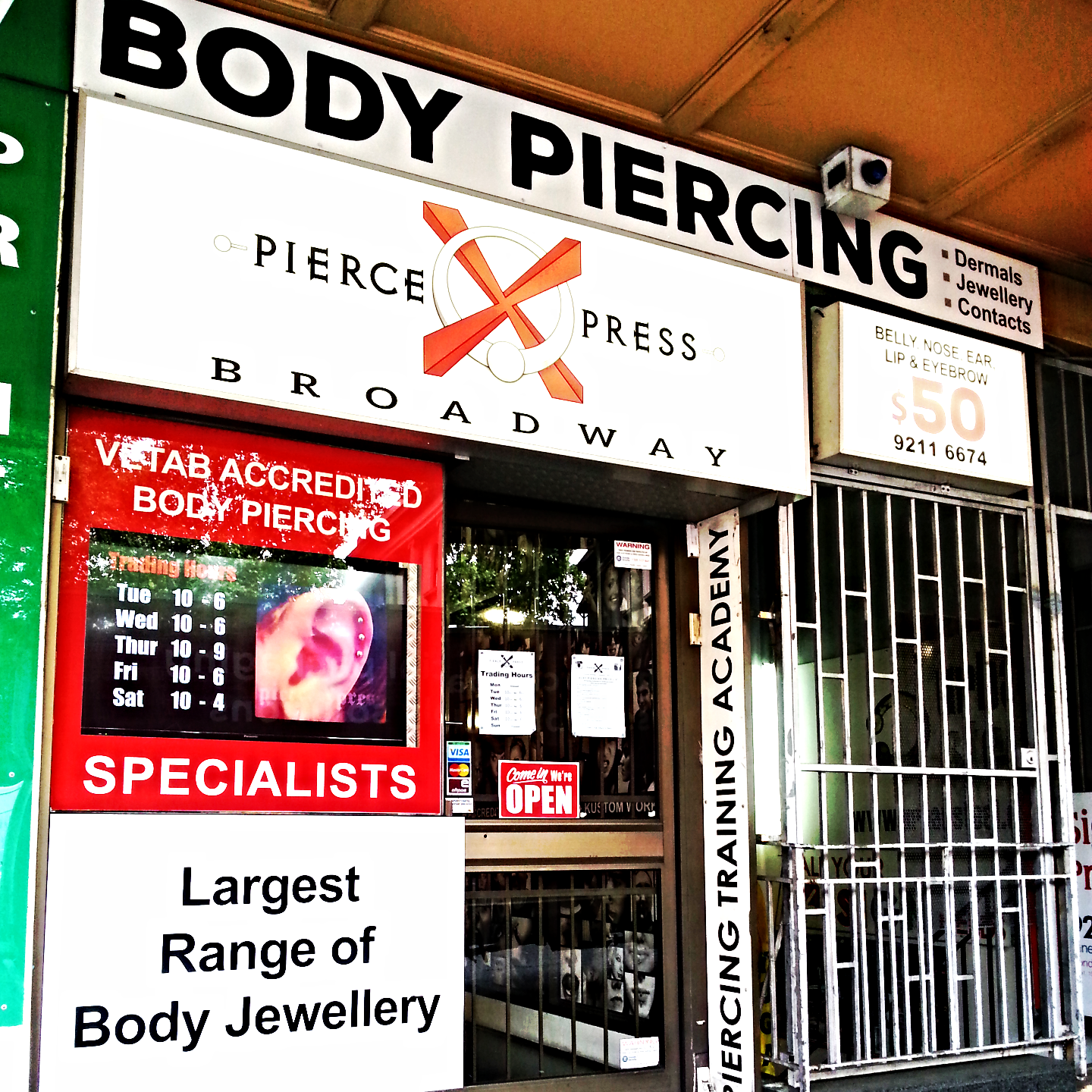 Body piercing wollongong